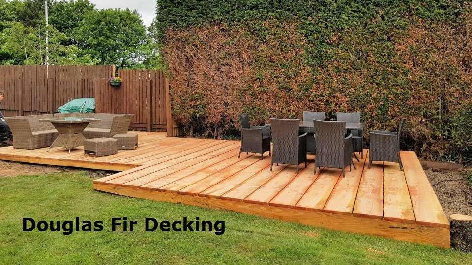 douglas fir decking